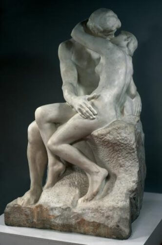 escultura impressionisme el petó rodin