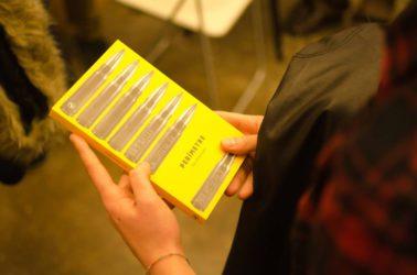 La llibreria Calders va acollir la presentació de 'Perímetre', la tercera novel·la de Jair Domínguez